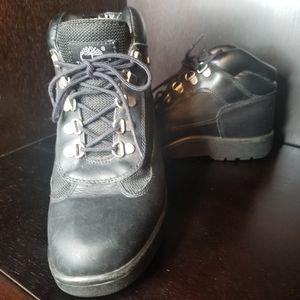 Timberland Field Black Boots SZ 7